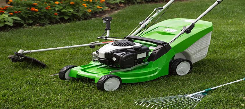 petrol-lawnmower